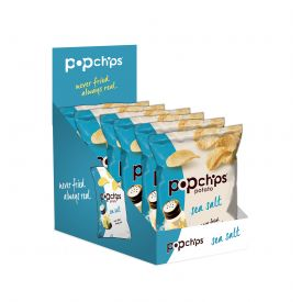 Popchips Salted Potato Chips - 0.8oz