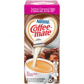 Nestle Coffee-Mate Salted Caramel Liquid Creamer .375oz.