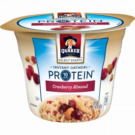 Quaker Cranberry Almond Instant Oatmeal Express Cup 2.18oz.