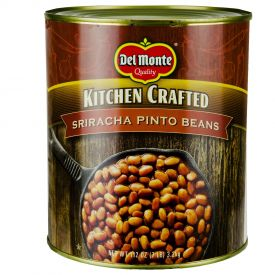Del Monte Kitchen Crafted Sriracha Pinto Beans - 112oz