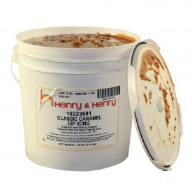 Henry & Henry Caramel Classic Dip Icing 30lb.