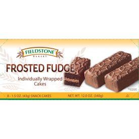 Fieldstone Frosted Fudge Cake 1.5 oz.