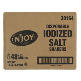 N'joy Disposable Salt Shaker - 4oz