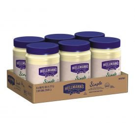 Hellmann's Simple Mayonnaise Spread - 60oz