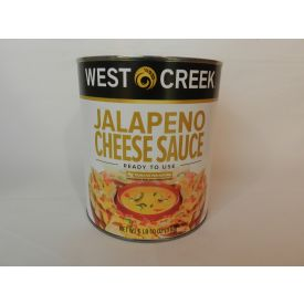 West Creek Jalapeno Cheese Sauce # 10 Can