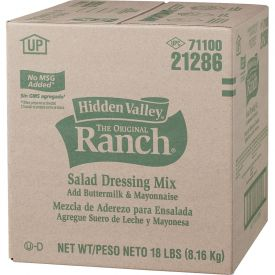 Hidden Valley Dry Buttermilk Ranch Dressing Mix - 18lb