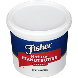 Fisher Creamy Natural Peanut Butter 80oz.