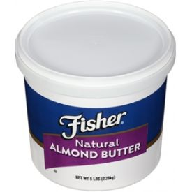 Fisher Natural Almond Butter 80oz.