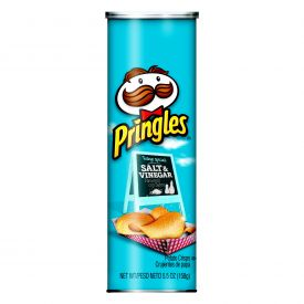 Pringles Salt & Vinegar Potato Crisps 5.5oz