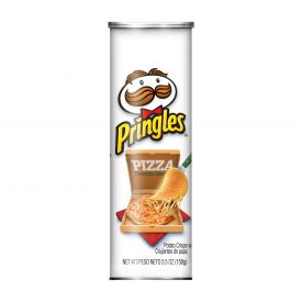 Pringles Pizza Potato Crisps 5.5oz.