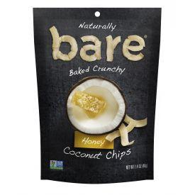 Bare Snacks Natural Honey Coconut Chips 1.4oz