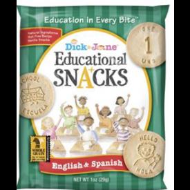 Dick & Jane Educational Snack English & Spanish 1oz