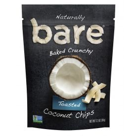 Bare Snacks Natural Coconut Chips - 3.3oz