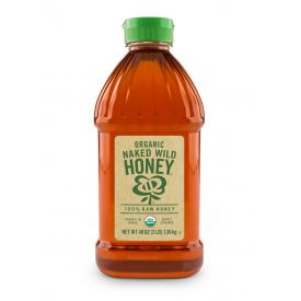 Naked Wild Honey Organic Raw Honey 48oz.