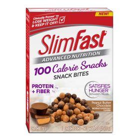 Slimfast Advanced Peanut Butter Chocolate Snack Bites 0.81oz