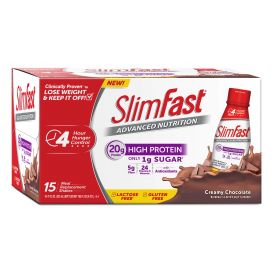SlimFast Advanced Chocolate Milk 11oz.