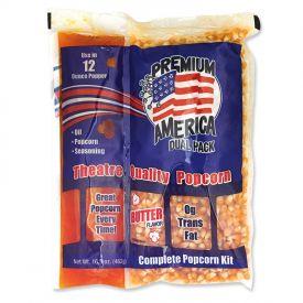 Great Western Popcorn Kit w/ Coconut Oil - 16.3oz