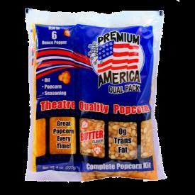 Great Western Popcorn Kit w/ Coconut Oil - 8oz