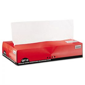 Bagcraft QF10 Interfolded Dry Wax Paper, 10 x 10 1/4, White