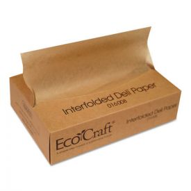 Bagcraft EcoCraft Interfolded Soy Wax Deli Sheets, 8 x 10 3/4