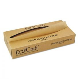 Bagcraft EcoCraft Interfolded Soy Wax Deli Sheets, 12 x 10 3/4