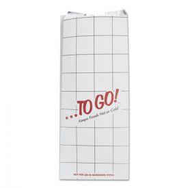 Bagcraft ToGo! Foil Insulator Deli / Sandwich Bags, 6