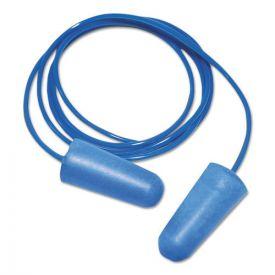 Boardwalk® Detectable Earplugs, Corded, Blue