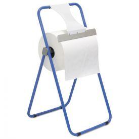 Boardwalk® Jumbo Roll Dispenser, Floor Stand, Blue, 16 3/8 x 20 x 33, Steel