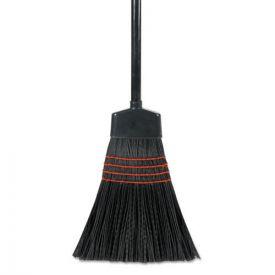 Boardwalk® Maid Broom, Plastic Bristles, Wood Handle, 54
