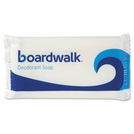 Boardwalk®  Face and Body Soap, Flow Wrapped, Floral Fragrance, # 1 1/2 Bar