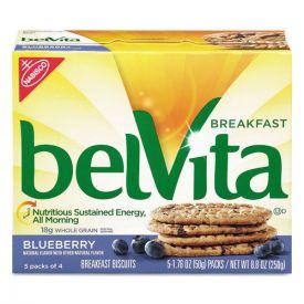Nabisco® belVita Breakfast Biscuits, 1.76 oz Pack, Blueberry