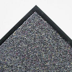 Crown Classic Berber Wiper Mat, Nylon/Olefin, 48 x 72, Gray