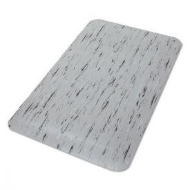 Crown Cushion-Step Surface Mat, 24 x 36, Spiffy Vinyl, Gray