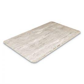 Crown Cushion-Step Surface Mat, 36 x 72, Marbleized Rubber, Gray