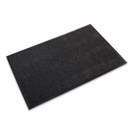 Crown Dust-Star Microfiber Wiper Mat, 36 x 120, Charcoal