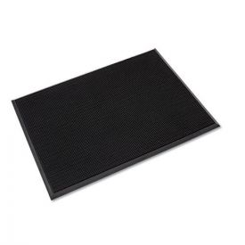 Crown Mat-A-Dor Entrance/Antifatigue Mat, Rubber, 36 x 72, Black