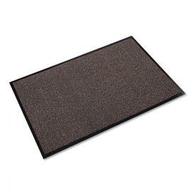 Crown Walk-A-Way Indoor Wiper Mat, Olefin, 36 x 60, Brown