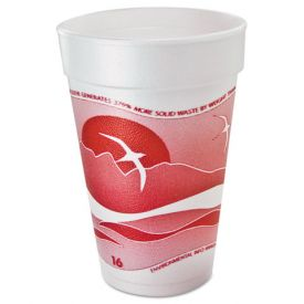 Dart Horizon Designer Foam Cups 16oz.