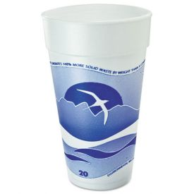 Dart Horizon Designer Foam Cups 20oz.