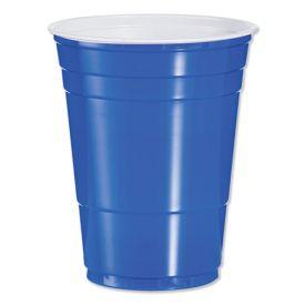Dart Solo Blue Plastic Cups 16oz.