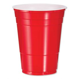 Dart Solo Red Plastic Cups 16oz.
