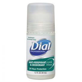 Dial® Anti-Perspirant Deodorant, Crystal Breeze, 1.5oz, Roll-On