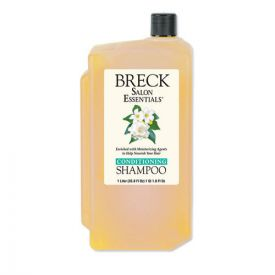 Breck® Shampoo/Conditioner, Pleasant Scent, 1 L Bottle
