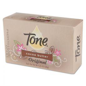 Tone® Skin Care Bar Soap, Almond Color, 4 1/4oz Individually Wrapped Bar