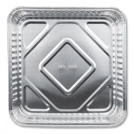 Durable Packaging Aluminum Square Cake Pans, 8