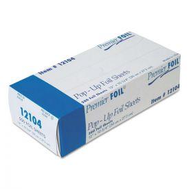 Durable Packaging Premier Pop-Up Aluminum Foil Sheets, 12