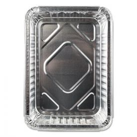 Durable Packaging Aluminum Closeable Containers, 1.5lb Oblong