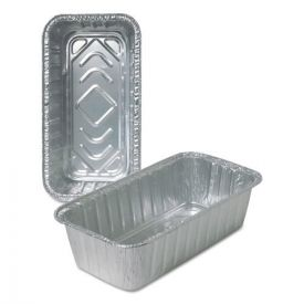 Durable Packaging Aluminum Loaf Pans 2lbs.
