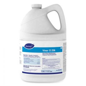 Diversey™ Virex II 256 One-Step Disinfectant Cleaner Deodorant Mint, 4-1gal,