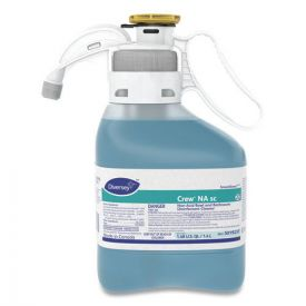 Diversey Crew Non-Acid Bowl & Bathroom Floral Disinfectant 47.3oz.